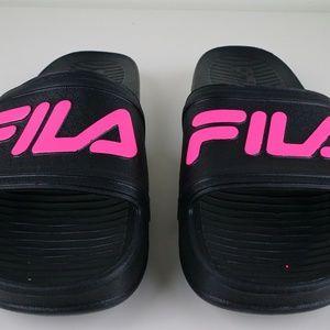 952694053e7f Fila Shoes - Fila Sleek Slide LT Mens Sandals Flip Flops